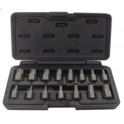 Skruvytdragarsats m3-14mm